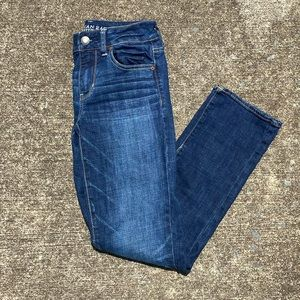 American Eagle straight super stretch jegging